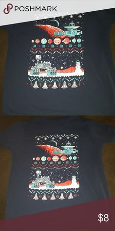 Lootcrate Ugly Christmas Sweater T Shirt Fun shirt! Nothing is wrong with it. Just ended up getting a second one in a mystery crate. lootcrate Shirts Tees - Short Sleeve