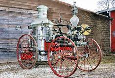 1873 Silsby Steam Pumper ... =====>Information=====> https://www.pinterest.com/joemcdonagh16/antique-fire-pumpers/