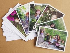 Tree Change Dolls - Sold Out.  Set of 6 blank Tree Change Dolls™ greeting cards, original photos by artist Sonia Singh