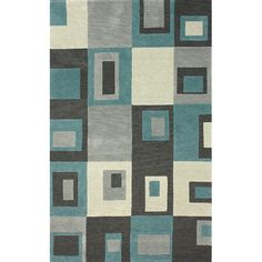 Found it at Wayfair - Goodwin Blue Tiffany Area Rug