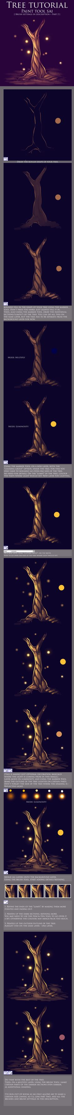 Tree Tutorial by Isihock.deviantart.com on @deviantART