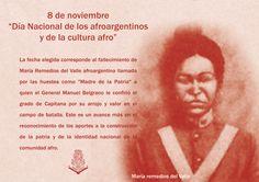 """8 de noviembre """"Día Nacional de las/os Afroargentinas/os y de la Cultura afro"""" Afro, Movies, Movie Posters, November 8, Remedies, Culture, Films, Film Poster, Cinema"""