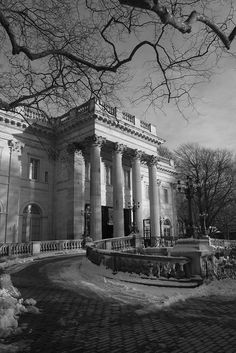 Newport, Rhode Island, Marble House Mansion, 1892.