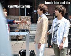 RyeoWook, KyuHyun, and YeSung macro