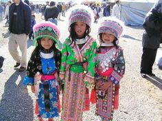 These are the Hmong, for some reason I've always been kinda obsessed with their culture