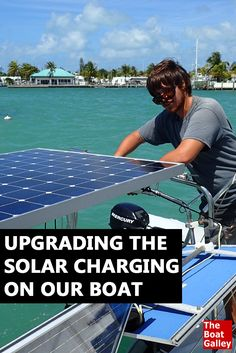 We did a major upgrade on our solar charging and we now live almost totally on solar power. Here's what we did (mostly DIY) and the cost. via @TheBoatGalley