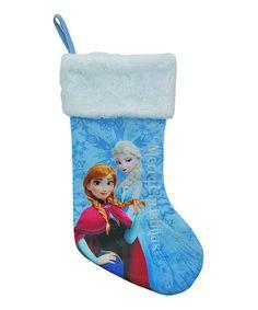 Look what I found on #zulily! Frozen 18'' Jersey Stockings by Frozen #zulilyfinds $5.99, regular 8.00