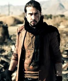 Screenshot of Avi Kaplan from Radioactive Cover Video.