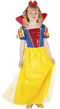 Pamuk Prenses Kostümü, Lüks 4-6 Y