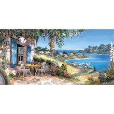 Lovely panorama Canvas Art - Reint Withaar (10 x 20)