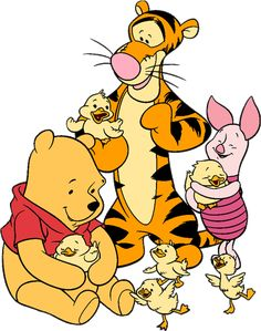 Just Duckie Designs: Pooh, Tigger, Winne The Pooh, Disney Winnie The Pooh, Eeyore, Tigger, Winnie The Pooh Pictures, Paddington Bear, Doodle Inspiration, Pooh Bear, Disney Cartoons