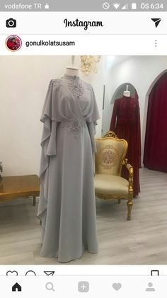 Ideas wedding gown modest simple for 2019 Islamic Fashion, Muslim Fashion, Modest Fashion, Fashion Dresses, Hijab Dress Party, Hijab Outfit, Simple Gowns, Simple Hijab, Dress Pesta