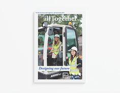 """Check out new work on my @Behance portfolio: """"allTogether - The Barnet Group Staff Magazine - SS15"""" http://on.be.net/1BMwVyi"""