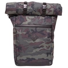 fac1014efc7 Abscent Scout Roll-Top Backpack - Black Forest