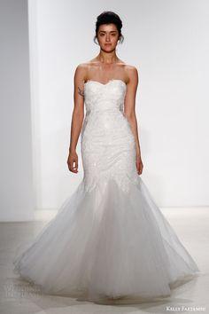kelly faetanini bridal spring 2016 kaia strapless mermaid wedding dress godet skirt sweetheart neckline