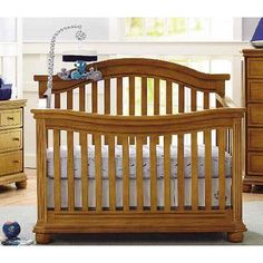 Oxford Baby Dallas 4 In1 Convertible Crib Slate Toys