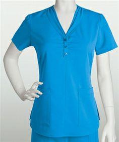 Pin this for a dollar off! NRG Womens 2 Pocket Scrub Top 3113 #scrubcouture #scrubs