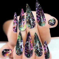 $1.76 - Diy Art Tips Chrome Pigment Shimmer Dust Nail Glitters Magic Mirror Powder #ebay #Fashion