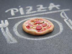 Set of 4 Pizza   112 Dollhouse Scale Miniature von CreationsByAni