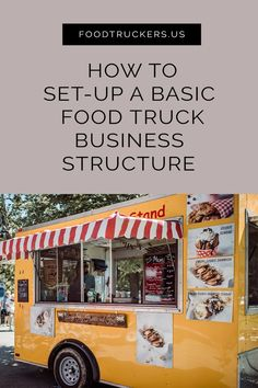 Starting a new food truck business can be a daunting task, especially if you are trying to figure the in-and-outs all on your own. Check out this article that explains the different licenses, policies, and fees you should obtain before hitting the road. Food Truck Menu, Best Food Trucks, Food Truck Design, Mexican Food Recipes, New Recipes, Foodtrucks Ideas, Starting A Food Truck, Food Truck Business, Business Baby
