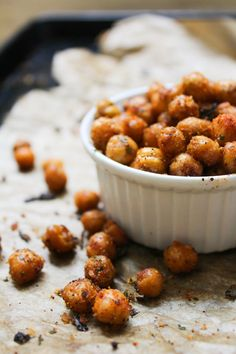 oven roasted cool ranch chickpeas