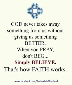 Simple... just qualify every prayer with guide me with what's best for me... and then believe and be guided... ❤