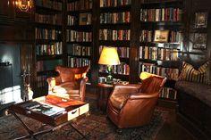 Impressive Home Library Design Ideas Home Library Rooms, Home Library Design, Home Libraries, House Design, Design Design, Library Inspiration, Man Room, Decoration, Living Spaces