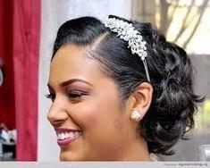 Pin On Bridal Hairstyles Feminine Wedding Hairstyles For Black Women Feminine Wedding Wedding Styles For Natural Hair And Locs Short Bridal Hair Charming Bridal Pixie Wedding Hair, Short Bridal Hair, Hairdo Wedding, Short Wavy Hair, Girl Short Hair, Wedding Hairstyles For Women, Side Hairstyles, Undercut Hairstyles, Bridal Hairstyles