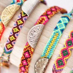 Gorgeous Lucy Folk Taco friendship bracelets - from my Instagram @FashionistaBarbie http://fashionistabarbieuk.com/