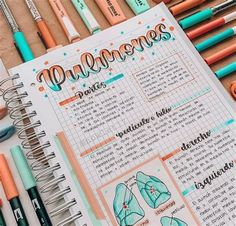 Bullet Journal School, Bullet Journal Banner, Bullet Journal Lettering Ideas, Bullet Journal Notebook, School Organization Notes, School Notes, College Notes, Pretty Notes, Good Notes