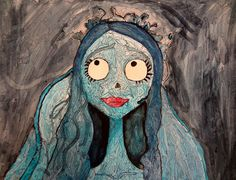 Sharpies, paint, and paper! Oh my!: Most successful Art 1 project yet...MUNCH/ Emotion.