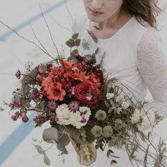 Ramo de novia con Contraste
