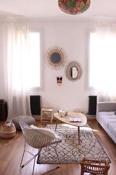 Tapis berbère boucherouite azilal décoration