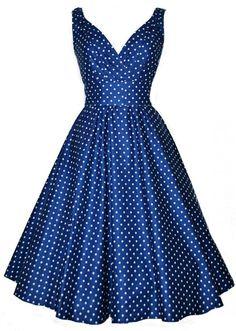 Vintage retro 50s 60s women's dot dress V-neck point sleeveless vest big swing dress Rockabilly Pinup Housewife Party Vestidos Alternative Measures