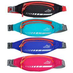 Running Waist Belt Bags for Men Women Outdoor Cross Shoulder Pocket Mountaineering Phone Bag Hiking Nylon Waterproof pocket  #Affiliate
