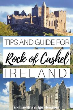 Rock of Cashel Tour - Tips and Guide For First Time Visitors - Ireland Travel Guides So if you are looking for a complete guide for your Rock of Cashel tour, here are tips and guide for first-time travelers. Ireland Destinations, Ireland Travel Guide, Europe Travel Tips, Time Travel, Travel Guides, Travel Destinations, Budget Travel, Travel Uk, Backpacking Europe
