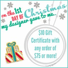 On the 1st Day of Christmas...... What Charms Tell Your Story? Contact me now! www.GlamorousByVictoria.OrigamiOwl.com ~ Designer #49681 Like our www.facebook.com/GlamorousByVictoria