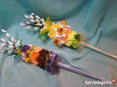 Palmy Wielkanocne wielokolorowy podkarpackie Jasionka sprzedam Holidays And Events, Diy And Crafts, Easter, Scrappy Quilts, Palms, House