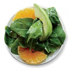 Spinach Salad with Avocado and Orange | This is a good recipe, I didn't use cilantro in my half of the dressing because I'm not a fan and it was still good. I added diced jalapeño, to add more flavor and it was great