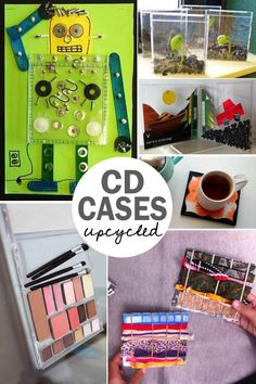 All the things you didn't know you could do with a CD case!