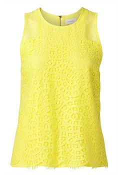 Lace Shell Top such a gorgeous colour Pear Body, Shell Tops, Body Shapes, Clothing Items, Style Me, Clothes For Women, Tank Tops, Lace, Beauty
