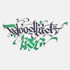 "16 Likes, 3 Comments - Anatolio Spyrlidis (@royalvenom) on Instagram: ""Inspired by #WOODKID - #IRON song #calligraphy #calligraffiti #art"""