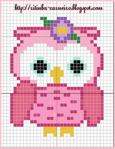 quilting like crazy Owl Crochet Patterns, Perler Patterns, Hand Embroidery Patterns, Cross Stitching, Cross Stitch Embroidery, Cross Stitch Patterns, Butterfly Cross Stitch, Cross Stitch Baby, Car Seat Canopy Pattern