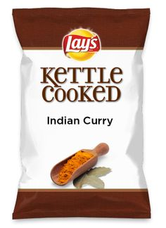 Wouldn't Indian Curry be yummy as a chip? Lay's Do Us A Flavor is back, and the search is on for the yummiest chip idea. Create one using your favorite flavors from around the country and you could win $1 million! https://www.dousaflavor.com See Rules.