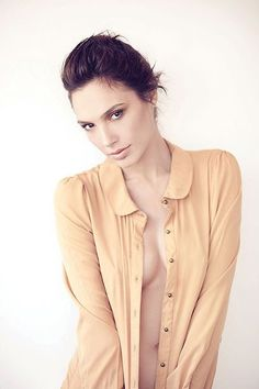 Gal Gadot (Israeli) (actor) (cleavage) (standing) (front)