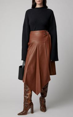 Get inspired and discover Ulla Johnson trunkshow! Shop the latest Ulla Johnson collection at Moda Operandi. Teen Fashion Outfits, Chic Outfits, Womens Fashion, Professional Attire, Haute Couture Fashion, Ulla Johnson, Leather Fashion, Skirt Fashion, Casual Chic
