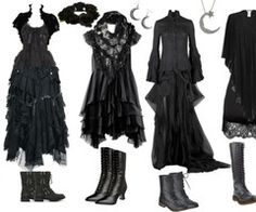 Elegance in Darkness — angervenus: Dark Mori Kei by queenstormrider... | via Tumblr