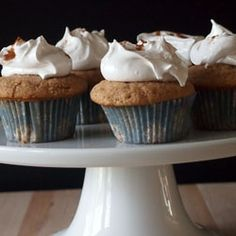 Snickerdoodle Cupcakes by piesandplots
