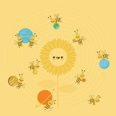 We are the solar system by skinnyandy, via Flickr