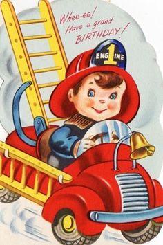 Fire truck RHS